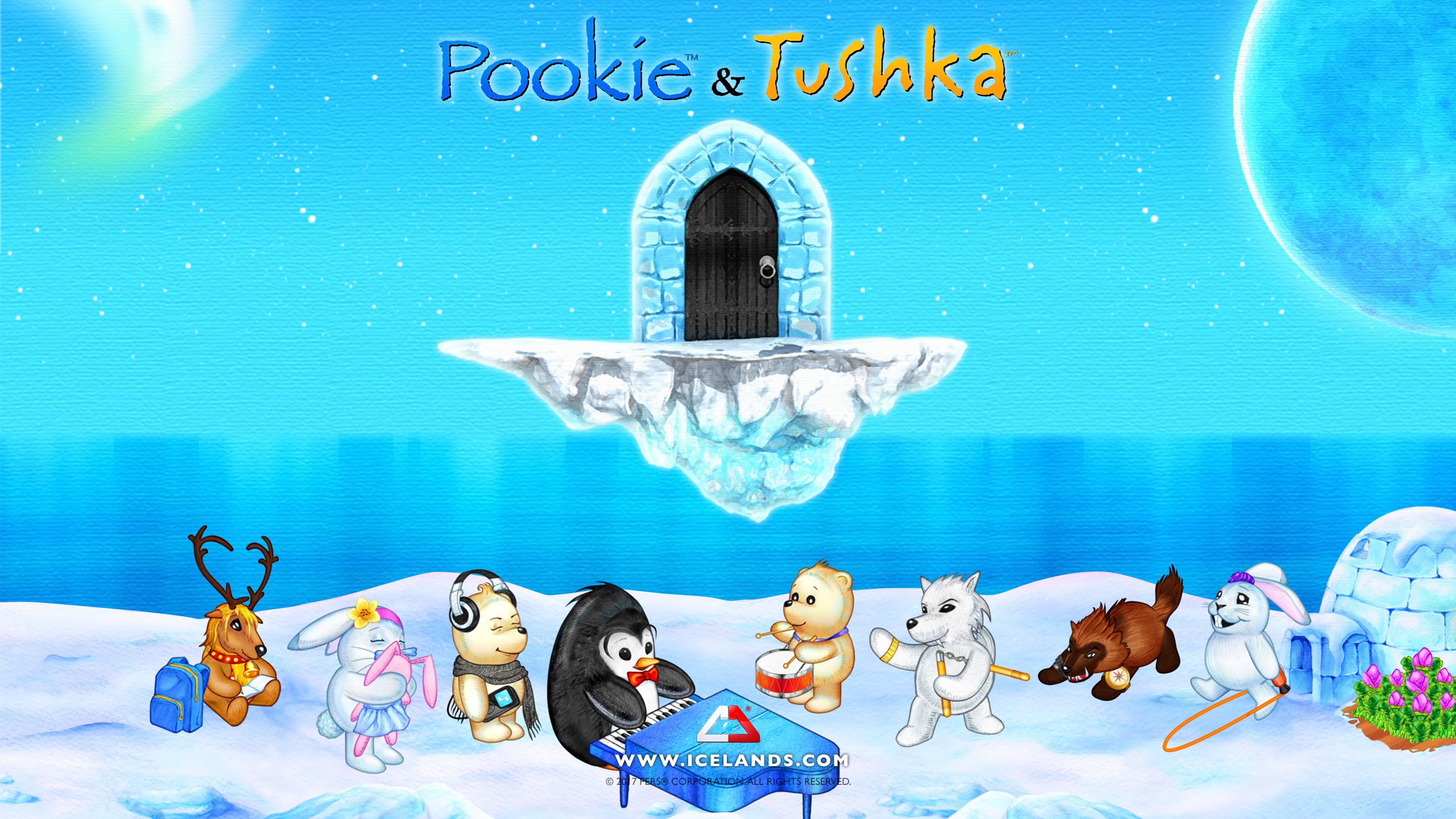 pers home of pookie tushka and the blobbies!